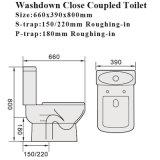 علامة مائيّة صحّيّة سلك [وتر كلوست] غرفة حمّام مرحاض خزفيّ
