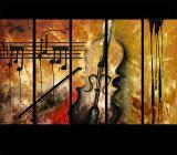 Combinación de pintura abstracta