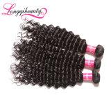Weave do cabelo humano de Remy da venda por atacado da amostra livre