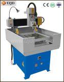 Da gravura acrílica de alumínio do ferro do metal máquina de trituração pequena do router do CNC