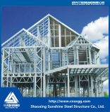 Heller schneller Stahlbau-vorfabriziertes Stahlkonstruktion-Luxuxlandhaus