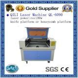 목제 아크릴 비금속 이산화탄소 Laser 절단기 가격 (DW1390)