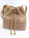 Gesponnener pp.-Stroh-Schulter-Beutel-Handtaschen-Schultaschen-Beutel