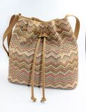 Saco tecido do Satchel das bolsas dos sacos de ombro da palha dos PP