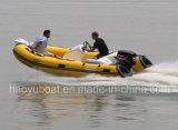 14FT de Boot Recsue van Rib420c met Ce 4.3m de Opblaasbare Boot van Hul Rigidl van de Glasvezel