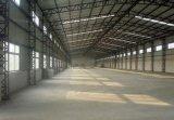 El bajo costo prefabrica la estructura de acero para el almacén