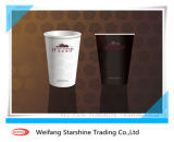 doppeltes PET 300g stellen überzogenes Papier für Kaffeetasse her