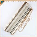 Di alta qualità del rivestimento ciechi d'argento del Rainbow dei ciechi di rullo di Zebre di mancanza di corrente elettrica semi