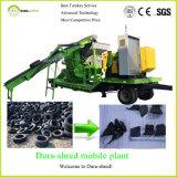 Découpage de rebut de pneu utilisé par acier de Bao et machine de réutilisation à vendre