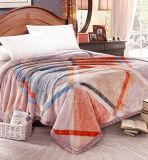 Cobertor coral impresso Sr-B170219-49 impresso macio super do velo do cobertor da flanela