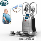 Machine Etg50-4s de Freezefat Criolipolysis de 4 traitements amincissant la machine