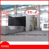 Moving Rotary Table Type Shot Blasting Machine