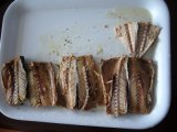 Faixa de peixes no óleo/faixa enlatada da cavala