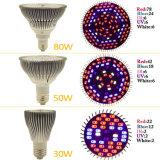 O diodo emissor de luz novo cresce a mini planta clara do diodo emissor de luz do UFO 150W cresce Sanan claro que emite-se brilho preto/branco do diodo com plugue UE/USA