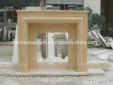 Cheminée de marbre simple (SY-MF103)