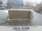 طبيعيّة حجارة أصفر صوان تفاهة [كونترتوب] لأنّ مطبخ
