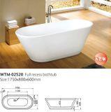 Banheira autônoma oval da banheira de Corian