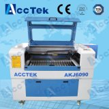 Laser CO2 Engraving Machine de Acctek 6090 para o laser Design/CO2 Cutting Machine de Leather