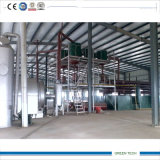 Malaysia Popular Tyre Recycling zu Oil Pyrolysis Equipment 10ton