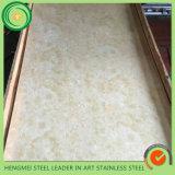 GV 304 da alta qualidade placa inoxidável gravada de 201 chapas de aço da laminação de madeira da grão