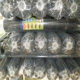 Estera tejida PP negra del control de Weed de la agricultura