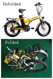 EN15194/CE 리튬 건전지 Eectric 자전거 (JB-TDN01Z)를 접히는 20 인치