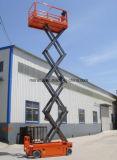 Selbstangetriebene hydraulische batteriebetriebene Scissor Aufzug mit CER