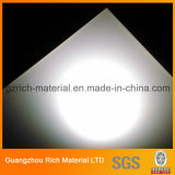 Milchiges weißes Quadrat Plastik-PS-Beleuchtung-Diffuser- (Zerstäuber)blatt für Deckenleuchte-Panel