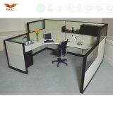 사무실 프로젝트 사무실 룸 사무실 워크 스테이션, 녹색 사무실 분할 책상