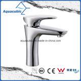 Faucet de bronze do misturador da torneira da bacia do banheiro (AF6805-6)