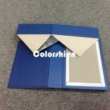 Rectángulo de regalo plegable de papel clásico del embalaje