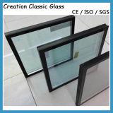 10mm+12A+10mmの低価格の建物アーキテクチャ安全によって和らげられる絶縁された薄板にされたガラスの製造業者