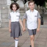 Blazers uniformes formels d'élève fait sur commande de lycée de qualité