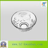L'alta qualità confronta la cristalleria calda Kb-Hn0160 della ciotola di vetro di vendita