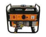 가정 사용 1kw 작은 휴대용 휘발유/가솔린 발전기 Fs1500