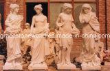 Four Season God, Stone Marble, Sculpture en marbre (GS-GS-005)