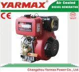 Lucht van Yarmax koelde het Enige Elektrische Begin van de Cilinder 190f 10HP 11HP met de Dieselmotor van Ce ISO