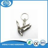 Оптовый металл Keychain формы 3D птицы высокого качества
