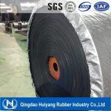Nastro trasportatore di gomma resistente al fuoco tessuto solido di Nn200 Swr