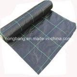 Estera plástica tejida PP del control de Weed de la red de la cubierta de tierra