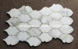 Azulejo Waterjet del cuarto de baño del mosaico del Onyx de la miel