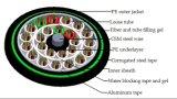 Направьте похороненный кабель стекловолокна (GYTA53)