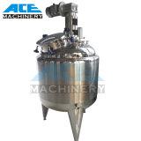 serbatoio mescolantesi sanitario dell'acciaio inossidabile del riscaldamento di vapore 500litres (ACE-JBG-0.5Z)