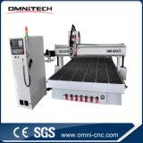 Centro de máquina del ranurador del CNC con el cambiador de la herramienta del Atc