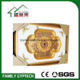 Médaillon luxueux de picoseconde pour la décoration à la maison de plafond