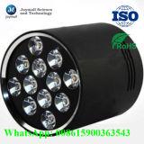 De aluminio modificada para requisitos particulares a presión el disipador de calor de la cubierta de la lámpara de la fundición LED