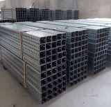 Poteaux en acier carrés de tube galvanisés par vente en gros