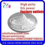 Pó de Hyaluronate Ha do ácido hialurónico/sódio da classe cosmética para o produto hidratando da pele