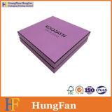 Rectángulo de regalo de empaquetado del papel del perfume de los cosméticos de la cartulina creativa