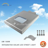 IP65 Outdoor Sensorial Motion Integrated All in Solar One LED Street Light